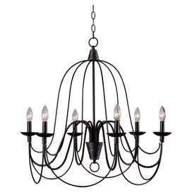 Iron Lace 6-Light Chandelier