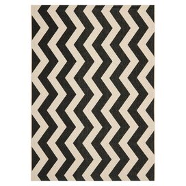 Wellfleet Indoor/Outdoor Rug in Black