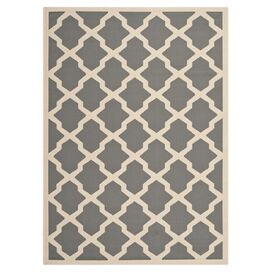 Rielle Indoor/Outdoor Rug in Anthracite