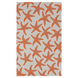 Estrella Indoor/Outdoor Rug in Burnt Orange