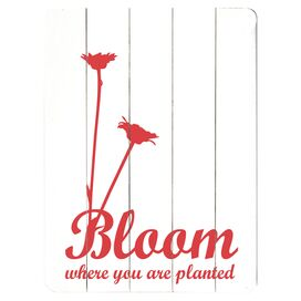 Bloom Where You Are Wall Decor