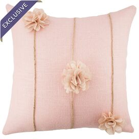Flora Pillow in Peach