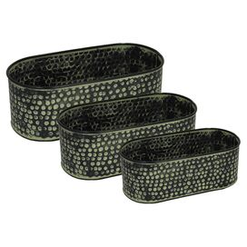 3-Piece Mercan Planter Set