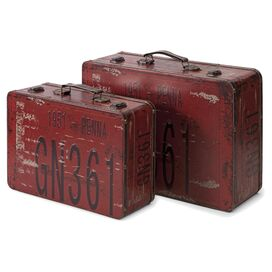 2-Piece Richmond Suitcase Decor