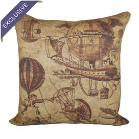 Flying Machines Pillow