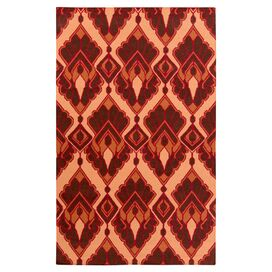 Vivian Rug in Burnt Umber