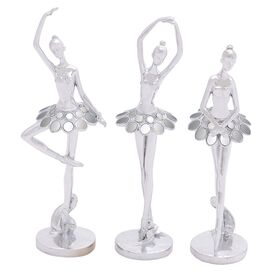 3-Piece Pointe Dancer Decor