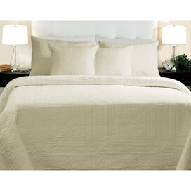 Adele Ivory Quilt Set Full/Queen