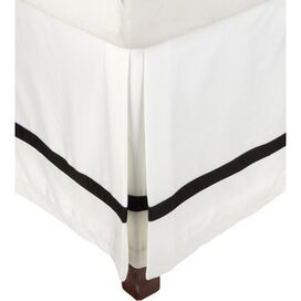 Marcie Bed Skirt in Black