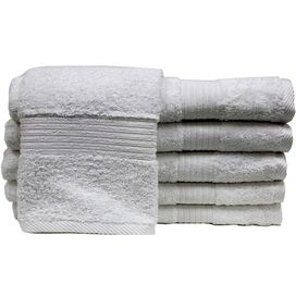 Hermosa Hand Towel in White
