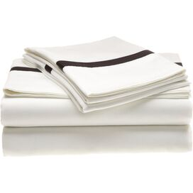 4-Piece Marcie King Sheet Set in Black