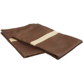 Marcie Pillowcase in Mocha