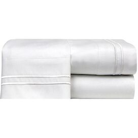 4-Piece Bradley King Sheet Set in White