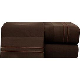 Bradley Sheet Set in Chocolate
