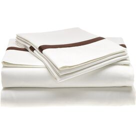 Marcie Sheet Set in Chocolate