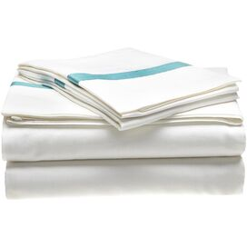 4-Piece Marcie Sheet Set in Turquoise