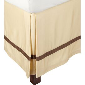 Marcie Bed Skirt in Honey