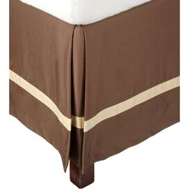 Marcie Bed Skirt in Mocha