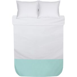 3-Piece Marcia Duvet Set in Mint