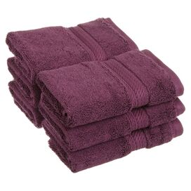 Seneca Washcloth in Plum