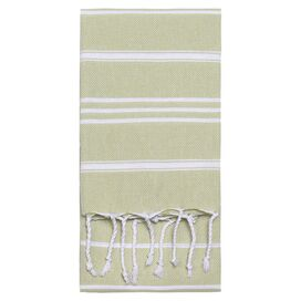 Marcella Fouta Towel in Green