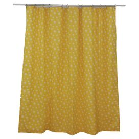 Jardine Shower Curtain in Corn Yellow