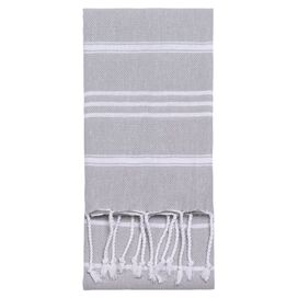Marcella Fouta Towel in Grey