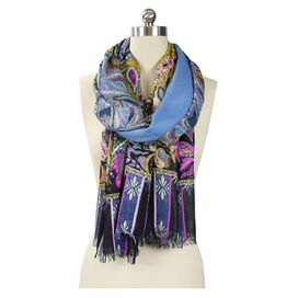 Marika Scarf in Jean Blue