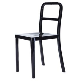 Boz Indoor/Outdoor Side Chair in Black