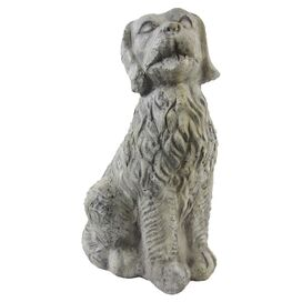 Sitting Dog Statuette