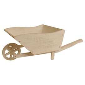 "Wheel Barrow 14"" Planter"