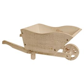 "Wheel Barrow 9"" Planter"