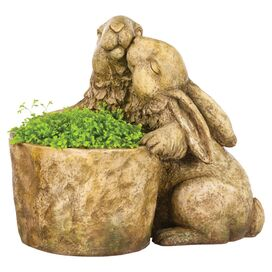Lovable Bunny Planter