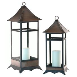 2-Piece Helene Candle Lantern Set