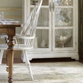 Hanscomb Arm Chair in White