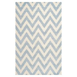 Emile 9' x 12' Rug in Light Blue