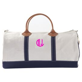 Nantasket Personalized Duffel in Navy