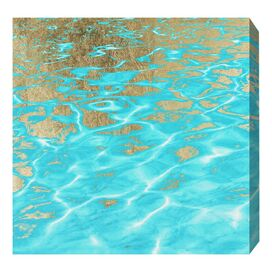 Oliver Gal & Co. Pristine Waters Canvas Print