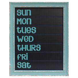 Week Chalkboard