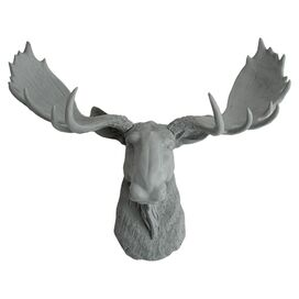 The Wellington by White Faux Taxidermy
