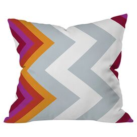 Warm Chevron Pillow