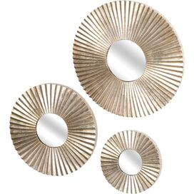 3 Piece Parker Wall Mirror Set