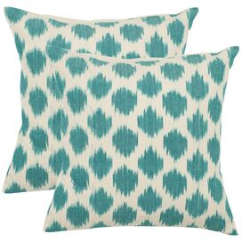 Jillian Pillow in Aqua