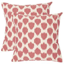 Jillian Pillow in Rose Red