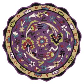 Ainsley 3' Round Rug