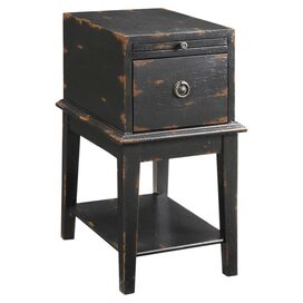 Acorn Accent Cabinet in Black