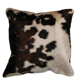 Torino Cowhide Pillow in Tricolor