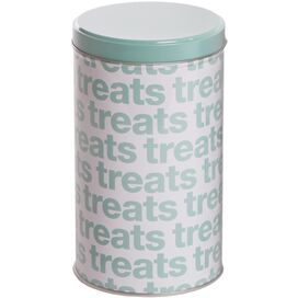 Helvetica Treat Canister in Green