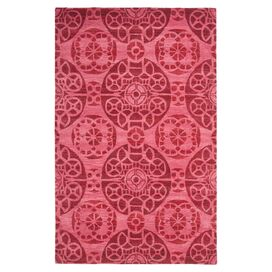Montauk 5' x 8' Rug in Red