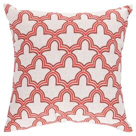 Artesia Pillow in Coral